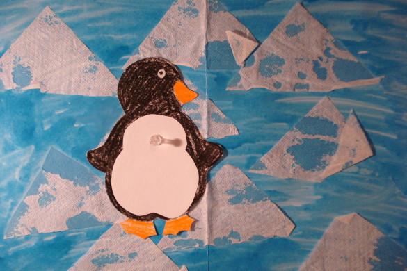 tučňák na kře