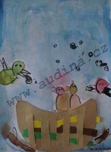 ptáci v hnízdě