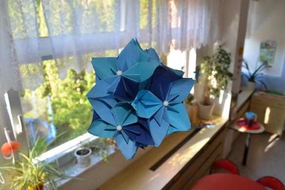 skládané květy