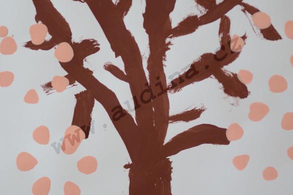Strom s jarními květy