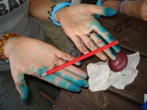 tužka na malování voskem